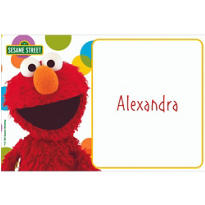 Sesame Street Custom Thank You Note