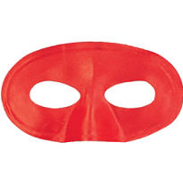 Red Fabric Eye Mask