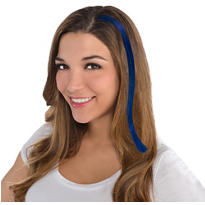 Blue Hair Extensions 15in