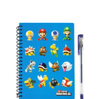 Super Mario Notebook with Pen