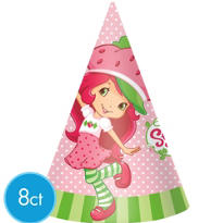 Strawberry Shortcake Party Hats 8ct