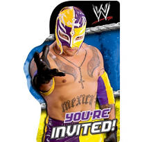 Rey Mysterio WWE Invitations 8ct