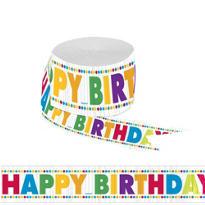 Boy Birthday Streamer