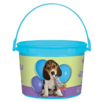 Party Pups Favor Container 4in