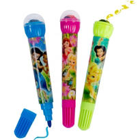 Disney Fairies Roller Stamper Markers 3ct