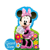 Giant Minnie Mouse Pinata 36in