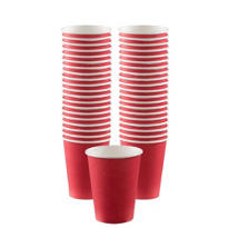 Red Paper Coffee Cups 40ct