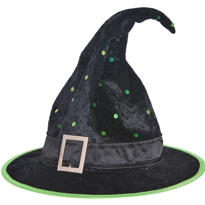 Polka Dotted Witch Hat