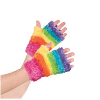 Child Rainbow Fairy Glovelettes