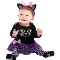 Baby Itty Bitty Kitty Tutu Dress - Cat