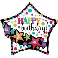 Happy Birthday Balloon - Garland Party On