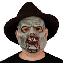 Latex Chomp Zombie Mask