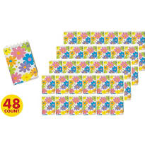 Flower Note Pads 48ct