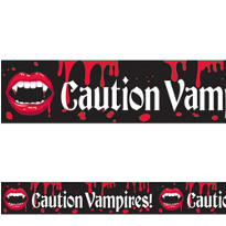 Fangtastic Vampire Caution Tape 20ft