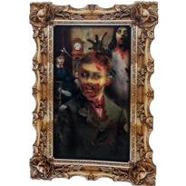 Boy Zombie Lenticular Portrait 12in x 17in