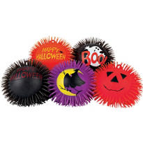 Halloween Jumbo Flashing Puffer Balls 5ct