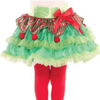 Girls Elf Tutu