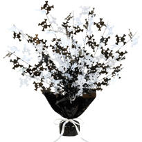 Skull and Crossbones Spray Centerpiece 15in