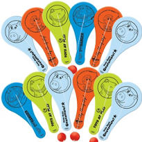 Assorted Toy Story Mini Paddle Balls 12ct