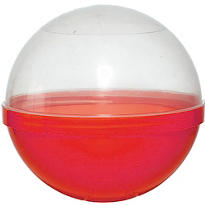 Red Ball Favor Containers 6in 12ct