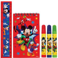 Mickey Mouse Stationery Set 5pc