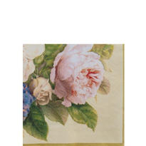 Fairy Rose Beverage Napkins 20ct