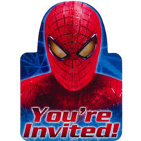 Spiderman Invitations 8ct