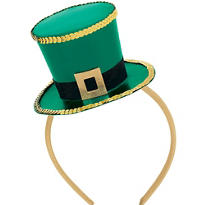 Leprechaun Mini Top Hat Headband
