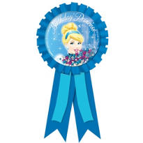 Cinderella Award Ribbon
