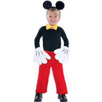 Child Mickey Mouse Costume Kit