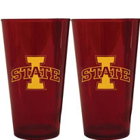 Iowa State Cyclones Pint Cups 2ct