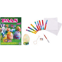 Tie Dye Easter Egg Coloring Kit 19pc