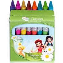 Disney Fairies Crayons 8ct
