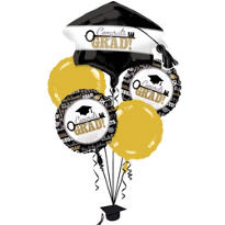 Foil Key to Success Graduation Balloon Bouquet 5ct