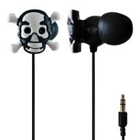 Skull and Crossbones Earbuds