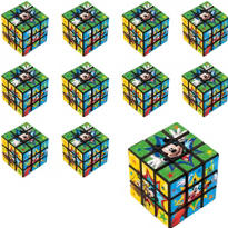 Mickey Mouse Puzzle Cubes 24ct