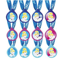 Cinderella Charm Necklaces 12ct