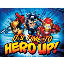 Marvel Super Hero Squad Invitations 8ct