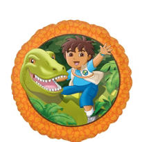 Foil Go Diego Go Balloon 18in