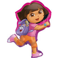 Foil Dora the Explorer Balloon 32in