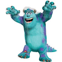Monsters University Balloon - Sulley