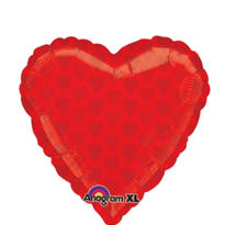 Foil Hearts Balloon 18in