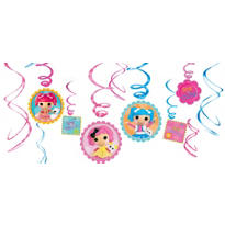 Lalaloopsy Swirl Decorations 12ct