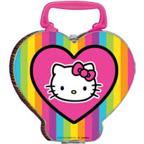 Neon Hello Kitty Lunch Box