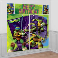 Teenage Mutant Ninja Turtles Scene Setter