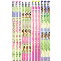 Princess and the Frog Pencils 12ct