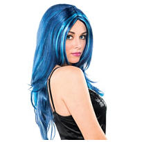 Blue Candy Wig