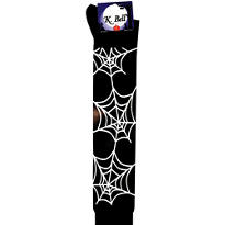 Black Spider Web Knee-High Socks