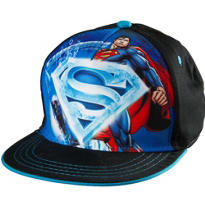 Child Superman Ice Logo Baseball Hat