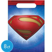 Superman Loot Bags 8ct